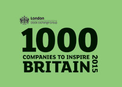 Companies to inspire Britain 2015