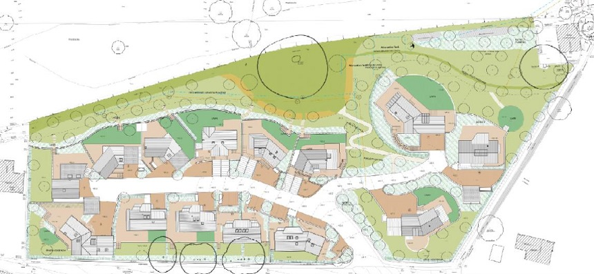 Nailsworth Site Plan