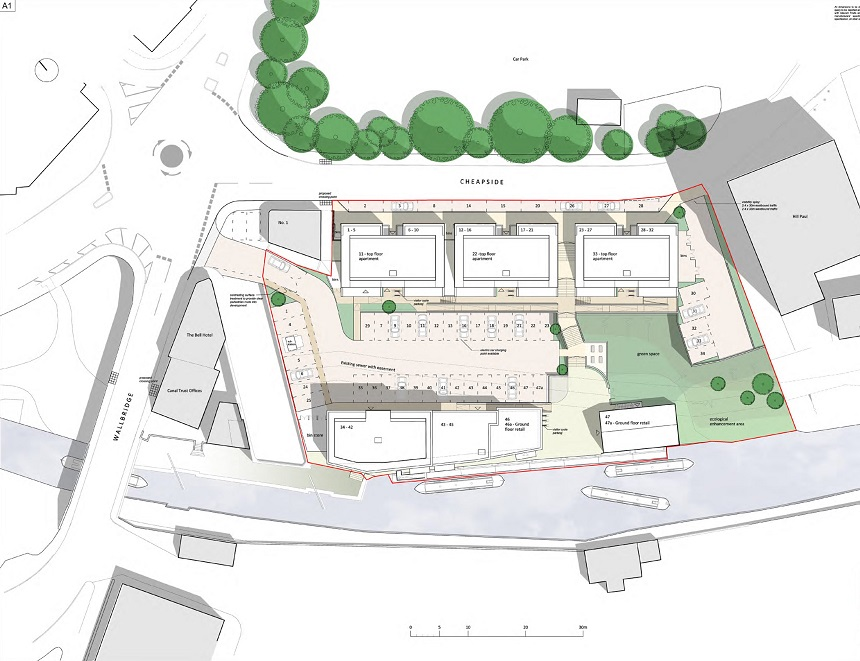 Wallbridge proposed development layout